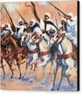 Fantasia Algerienne Canvas Print