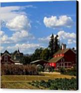 Farm House Canvas Print by Scott Brown