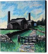 Farm Near Hexham. Canvas Print
