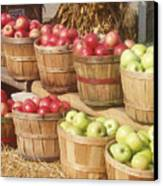 Farmer's Market Apples Canvas Print