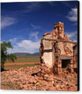Farmhouse Cottage Ruin Flinders Ranges South Australia Canvas Print