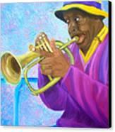 Fat Albert Plays The Trumpet Canvas Print