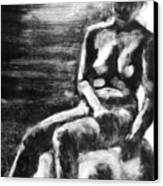 Female Iv Canvas Print