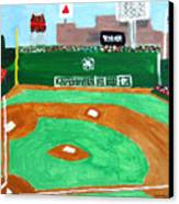 Fenway Park Canvas Print by Jeff Caturano