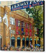 Fenway Summer Canvas Print by Gregg Hinlicky