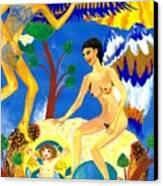 Feral Angels Canvas Print by Sushila Burgess