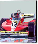 Ferrari 312 T3 1978 Canadian Gp Canvas Print