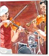 Fiddles Canvas Print