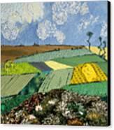 Fields To Gogh Canvas Print by Martha Ressler