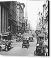 Fifth Avenue And East 34th Street New York City 1907 Canvas Print by Padre Art