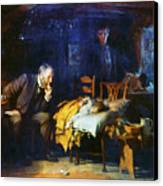 Fildes The Doctor 1891 Canvas Print