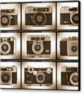 Film Camera Proofs 2 Canvas Print