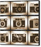 Film Camera Proofs 2 Canvas Print by Mike McGlothlen