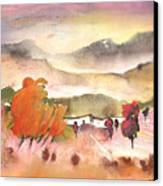 Finca In Spain Canvas Print