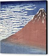 Fine Weather With South Wind Canvas Print by Hokusai