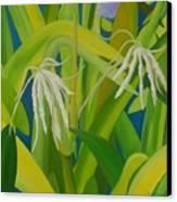 Finger Flowers Canvas Print