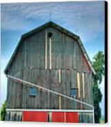 Finger Lakes Barn Iv Canvas Print by Steven Ainsworth