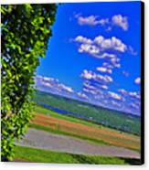 Finger Lakes Country Canvas Print by Elizabeth Hoskinson