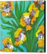 Fire Blossoms Canvas Print