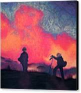 Fire Crew Canvas Print
