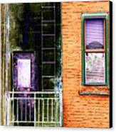 Fire Escape Canvas Print