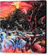Fire Canvas Print by Kimberly Simon