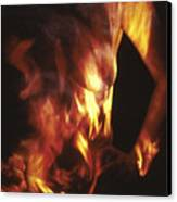 Fire Two Canvas Print by Arla Patch