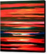 Fire Water Canvas Print