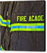Fireman Jackets Canvas Print by Skip Nall