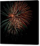 Fireworks Canvas Print by Christopher Holmes
