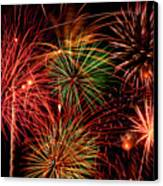 Fireworks Canvas Print by Erik Watts