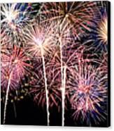 Fireworks Spectacular Canvas Print by Ricky Barnard