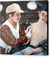 First Tattoo Canvas Print