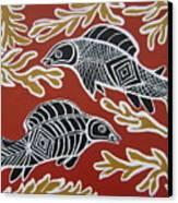 Fish Dreamin Canvas Print