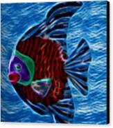 Fish In Water Canvas Print