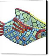 Fish Canvas Print by Katia Weyher