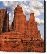 Fisher Towers Canvas Print