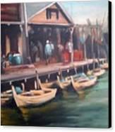 Fisher Village Canvas Print