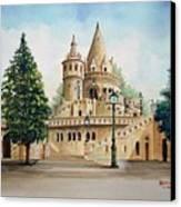 Fisherman Castle Canvas Print