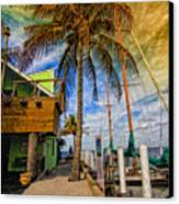 Fisherman Village Canvas Print by Gina Cormier