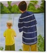 Fishin Canvas Print