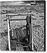 Fishing Boat Graveyard 8 Canvas Print