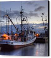 Fishing Fleet Canvas Print by Randy Hall