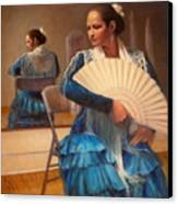 Flamenco 1 Canvas Print