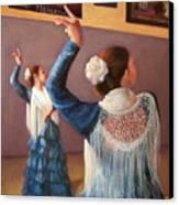 Flamenco 7 Canvas Print