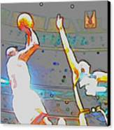 Flashing Greatness Canvas Print by Brandon Ramquist