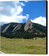 Flatirons Panorama Canvas Print