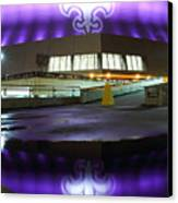 Fleur Di Lis Reflected Canvas Print by Pixel Perfect by Michael Moore