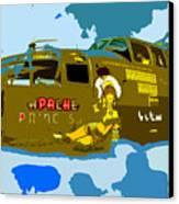 Flight Of The Apache Princess Canvas Print