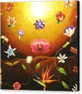Flor Nocturna Canvas Print